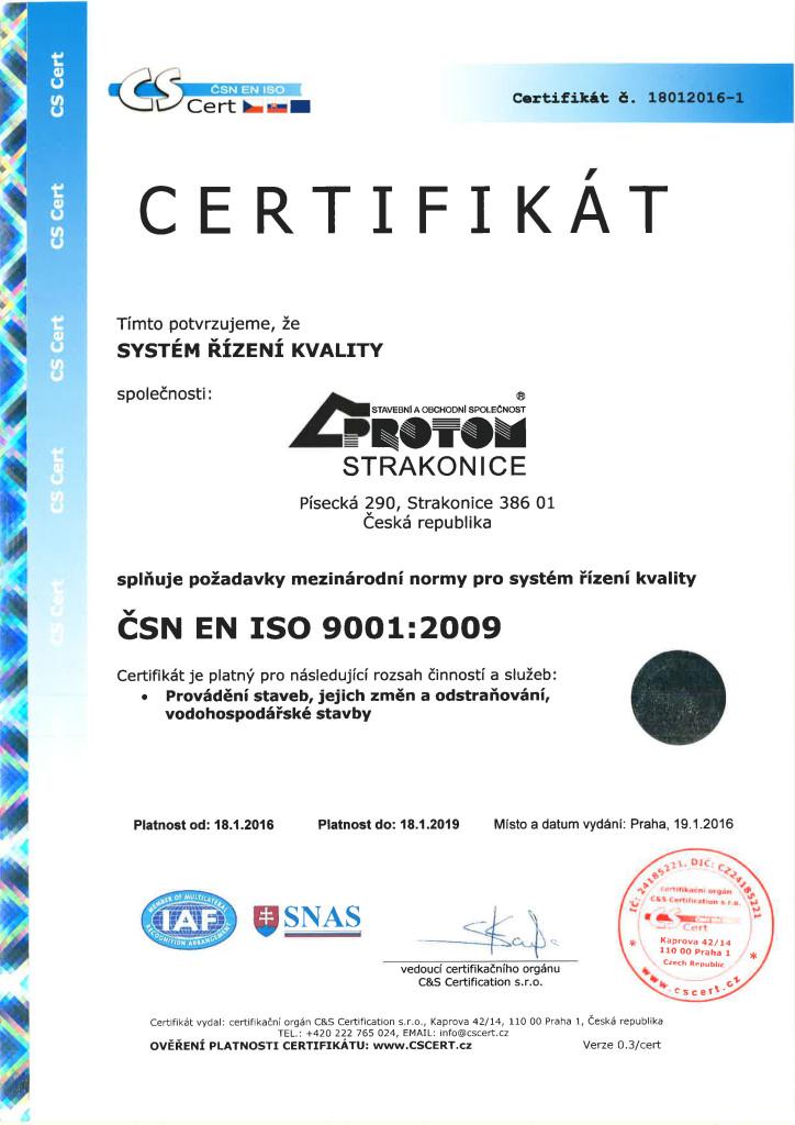 ČSN EN ISO 9001+
