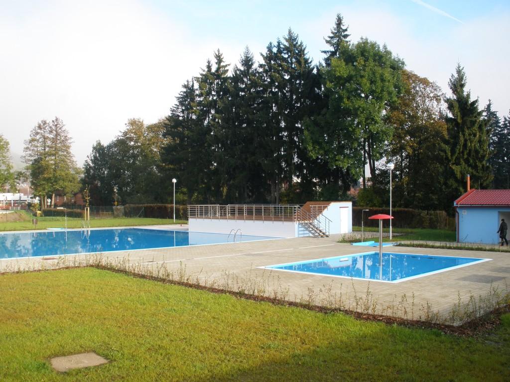 Foto reference Otavský park bazén Sušice