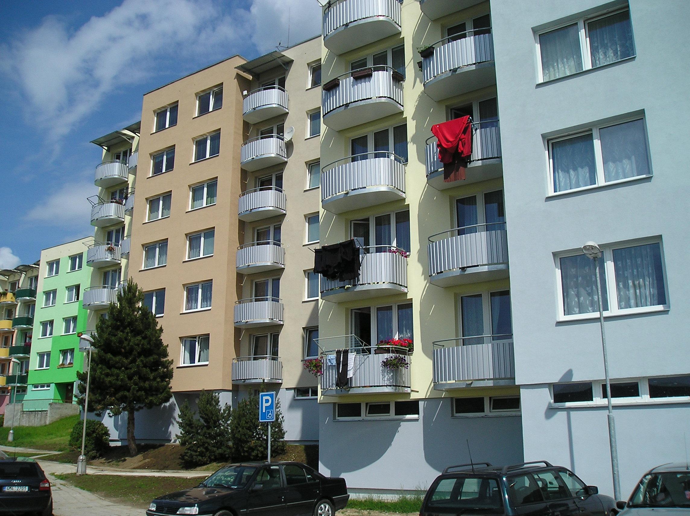 Regenerace panelových domů Vimperk