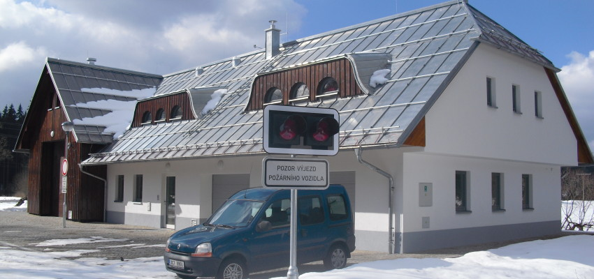 Foto reference Stanice SDH Stožec