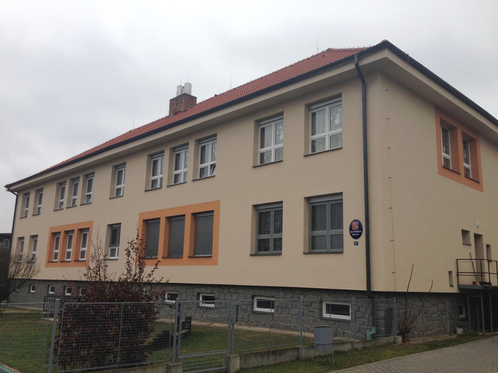 Foto reference zateplení MŠ Sepekov