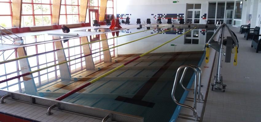 Bazén Volary - dokončení rekonstrukce bazénové haly
