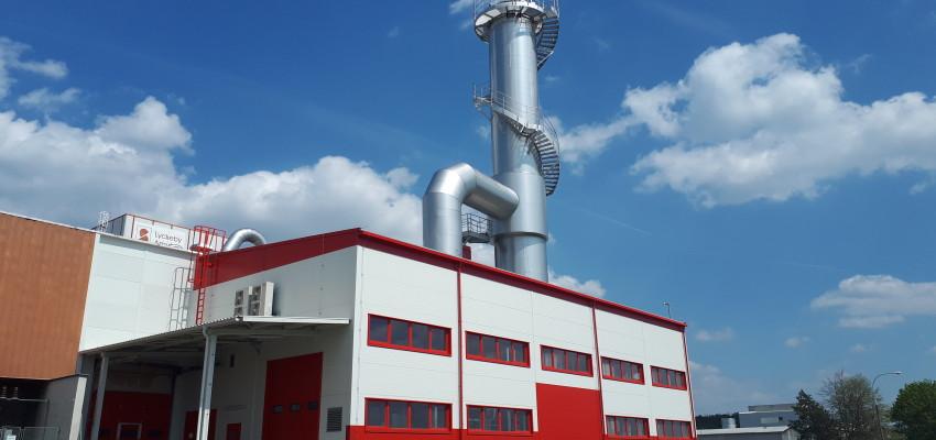 Spolupráce na zlepšení využití hlízové šťávy pro výrobu krmiv - stavební práce LYCKEBY AMYLEX Horažďovice