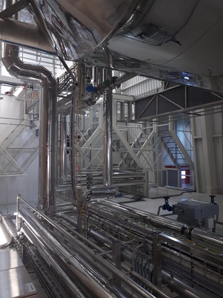 Spolupráce na zlepšení využití hlízové šťávy pro výrobu krmiv – stavební práce LYCKEBY AMYLEX Horažďovice
