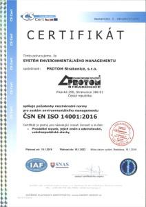 ČSN EN ISO 14001-2016