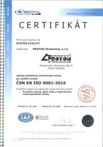 ČSN EN ISO 9001-2016